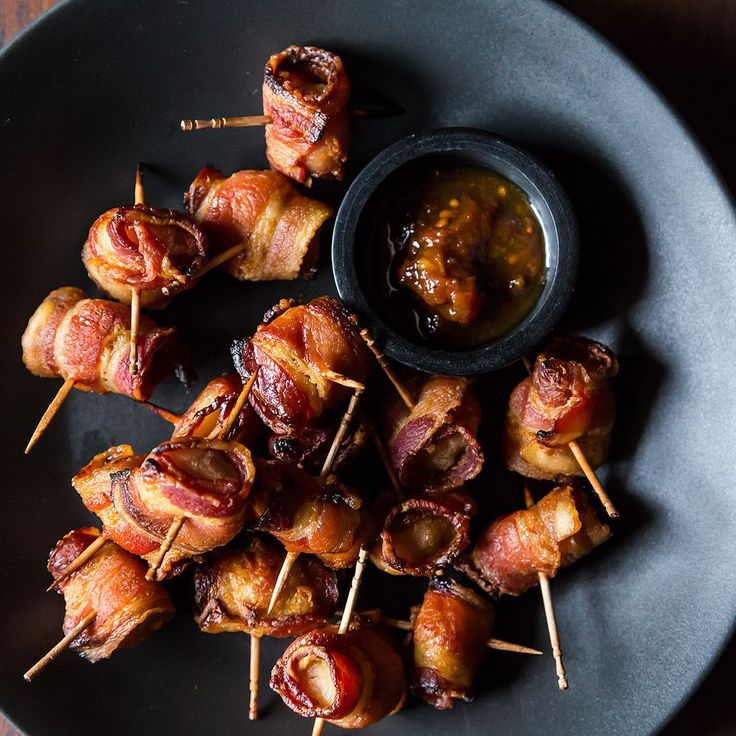 The Elegant Hors d'Oeuvre's Bacon-Wrapped Water Chestnuts recipe on Food52