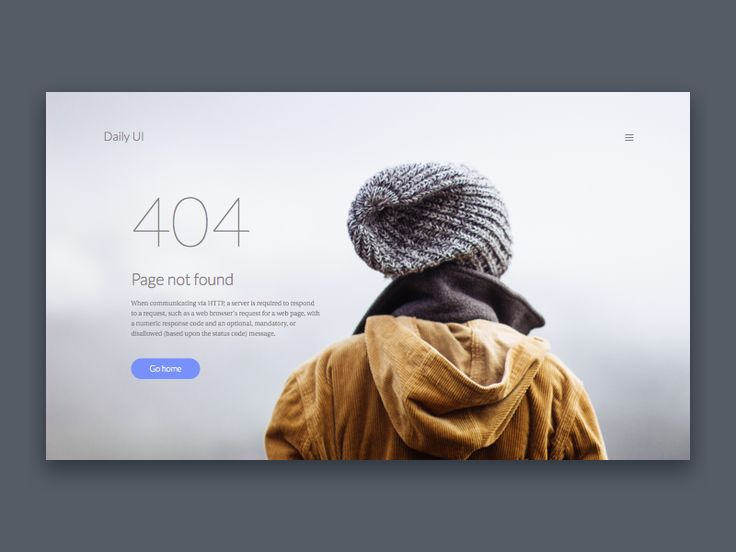 404 page by Roman Menshikov