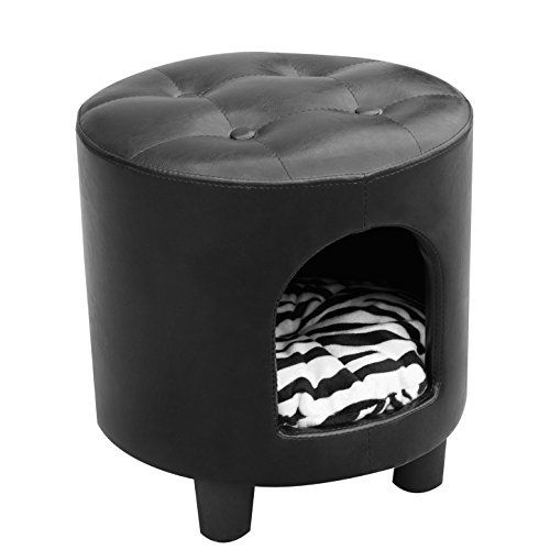 Pawhut Deluxe Pet Dog Sofa Bed & Ottoman - Black / Zebra Print Pawhut http://www.amazon.com/dp/B00M3F19EG/ref=cm_sw_r_pi_dp_MA9Oub0DVV6PQ