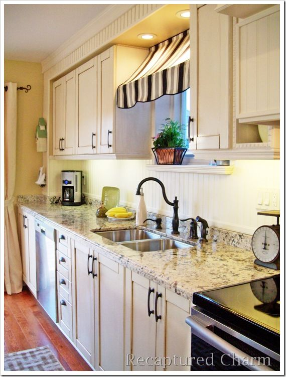 Love this counter top and cabinet colors and everything!