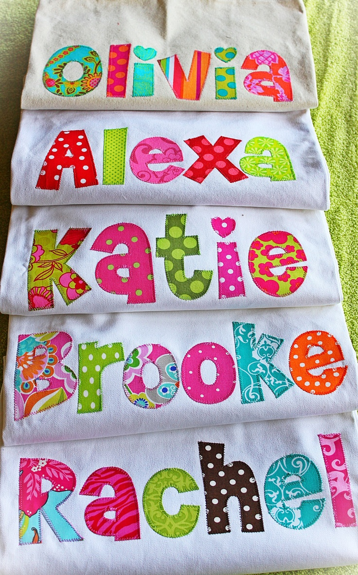 Personalized Tote Bag...Made To Order...great gift for teachers, coaches, teams, kid name. $18.99, via Etsy.