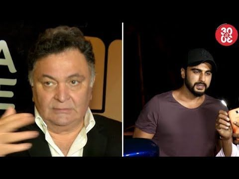 Rishi Kapoor Misbehaves With The Press | Arjun Gets Furious At Photographers - https://www.pakistantalkshow.com/rishi-kapoor-misbehaves-with-the-press-arjun-gets-furious-at-photographers/ - http://img.youtube.com/vi/shQjH2TF4Co/0.jpg