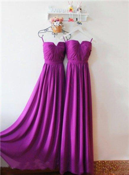 Kleider festlich lila