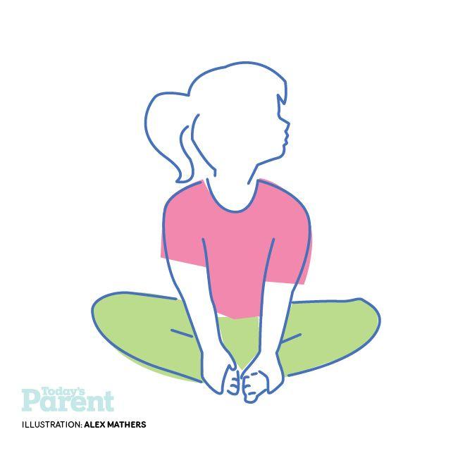 6 Easy Yoga Poses For Kids