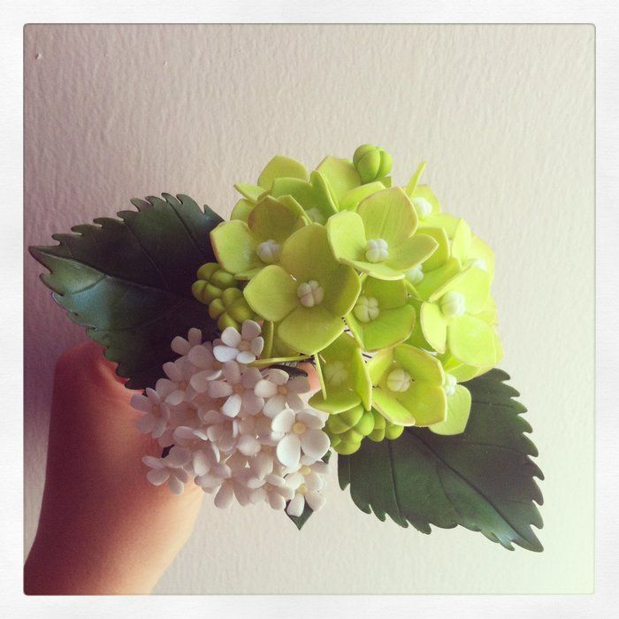 Sugar Hydrangea Sugar Flowers, Gum Paste Flowers ...