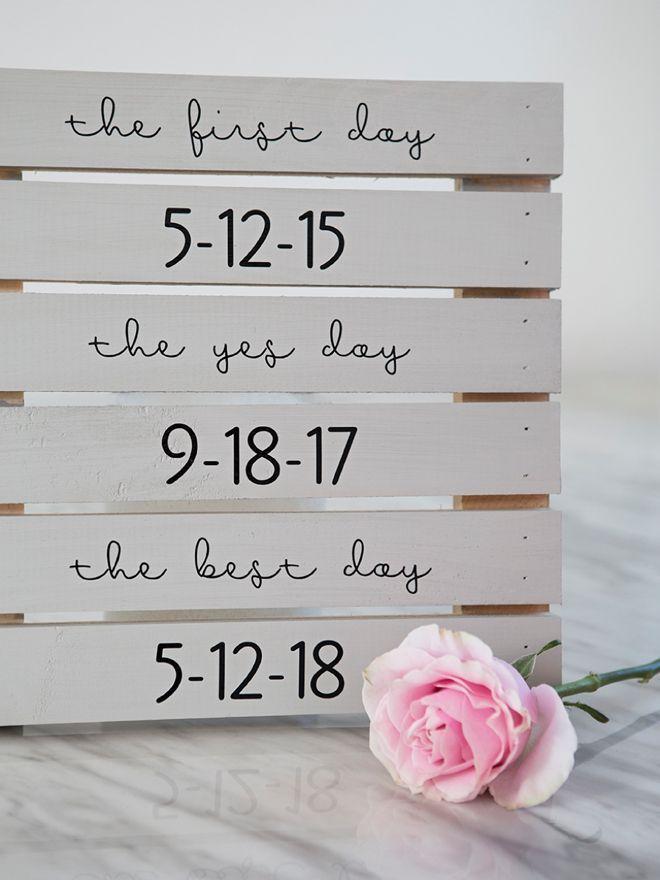 Sie MÜSSEN diese DIY Hochzeitszeichen sehen, die sie beruflich schauen!   – Hochzeit ♡