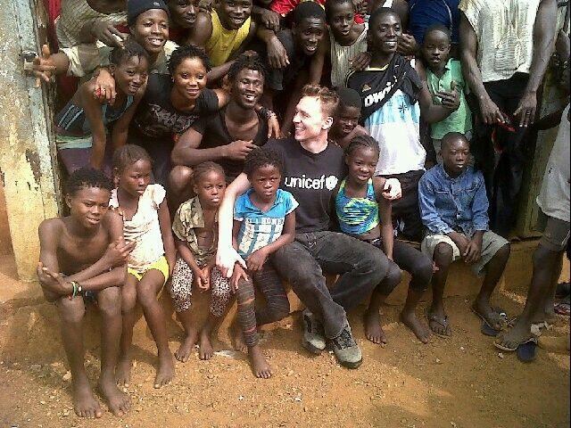 Tom Hiddleston Junior Ambassador for UNICEF