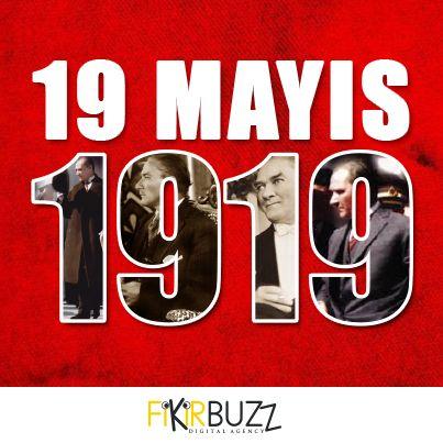 """""""Ey yükselen yeni nesil, gelecek sizindir. Cumhuriyeti biz kurduk; onu yükseltecek ve sürdürecek sizsiniz."""" Mustafa Kemal Atatürk #19mayis1919 #mustafakemalataturk #fikirbuzz"""