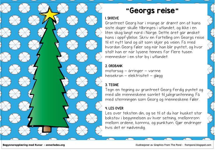 Fortellerkort N3 – Georgs reise | Begynneropplæring med Runar