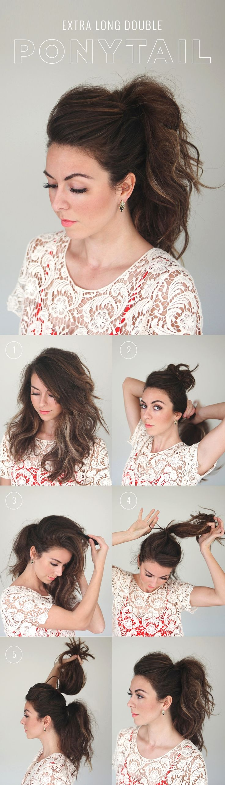 double ponytail
