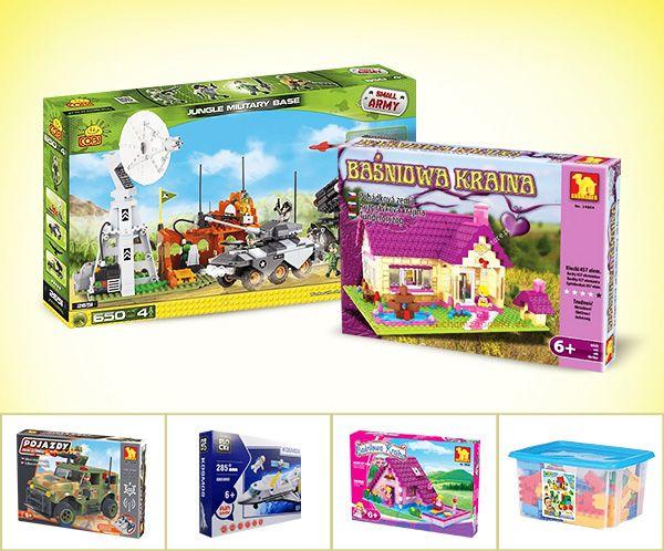 Klocki, zabawka także dla dziewczynki? My uważamy, że tak! #klocki #supermisiopl