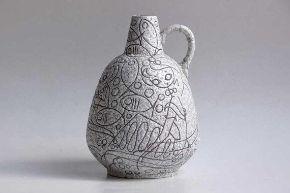 Vintage Collectors Item Vase Ruscha Adele Bolz by 1001vintage