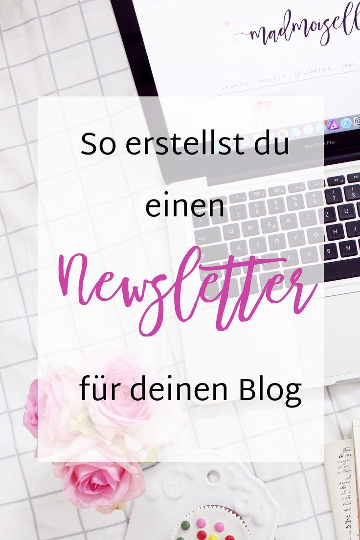Newsletter Marketing: Darum braucht dein Blog einen Newsletter und wie du diesen erstellst.