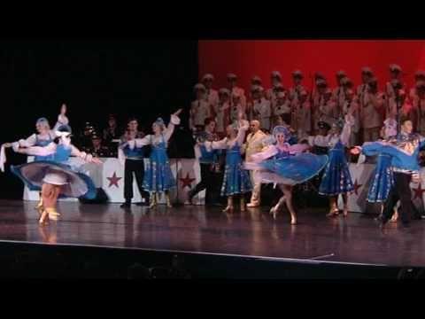 Les Choeurs de l'Armée Rouge - Kalinka (Russian Popular Dance - Danse Russe Folklorique) - YouTube