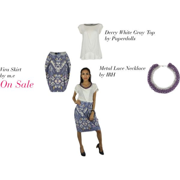 Vira Skirt - LAAVAA, created by laavaa on Polyvore - Get 20% off only on LAAVAA.com until Sunday May 20!