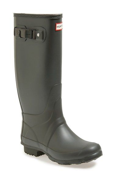 Hunter 'Huntress' Boot (Women) available at #Nordstrom - WIDE CALF BOOTS IN BLACK IN SIZE 9