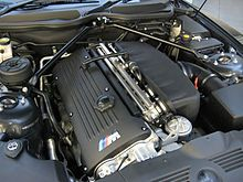 BMW S54 engine used in the Z3 M Coupe