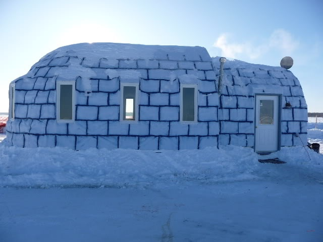 81 best ice fishing houses images on pinterest ice for Ice fishing cabins alberta