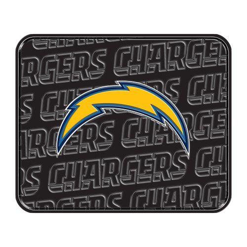 Northwest NOR-1NFL344000079RET San Diego Chargers NFL Rear Floor Mat