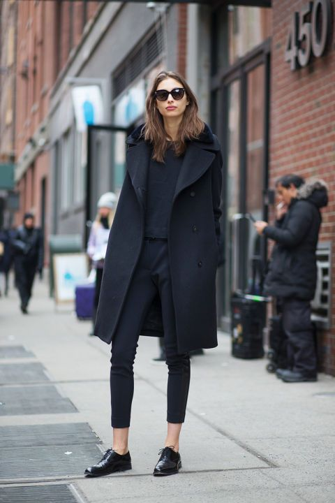 Best New York Fashion Week Street Style Fall 2015 - NYFW Street Style: