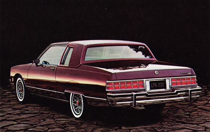 1981 Pontiac Bonneville Coupe Maintenance/restoration of old/vintage vehicles: the material for new cogs/casters/gears/pads could be cast polyamide which I (Cast polyamide) can produce. My contact: tatjana.alic@windowslive.com