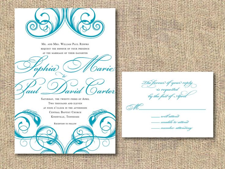 Best 25 Free printable wedding ideas – Printable Wedding Invitation Cards