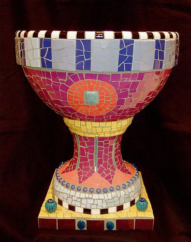 Mosaic Furniture & Garden Art – Plum Art Mosaics – Mosaic Artist – Sharon Plummer – Houston, Texas | Mosaic Art Source
