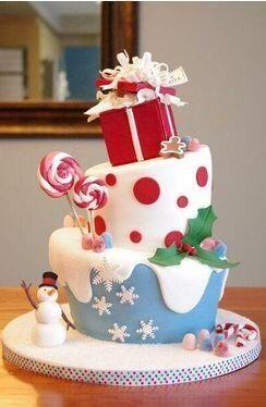 fantastic looking Christmas cake