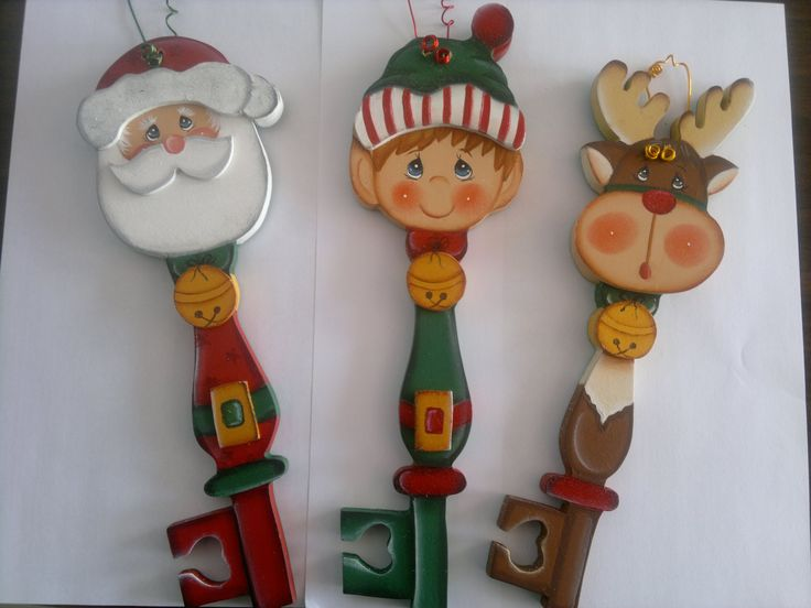 llaves navideñas