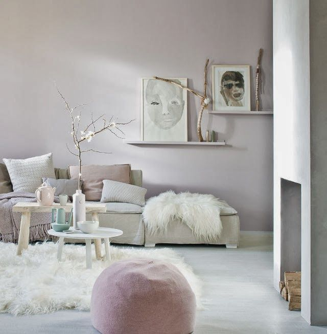 Le salon nude et cocooning lounge room pinterest les for Salon rose poudre
