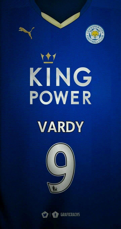 Leicester City 16-17 kit home Jaime Vardy #9