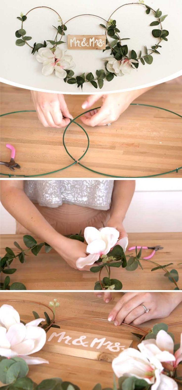 Idées de décoration de mariage bricolage Dollar Store – DIY Cuteness – Tracy Overeem