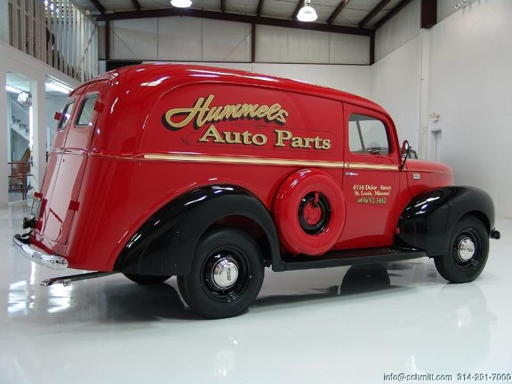 DANIEL SCHMITT & CO CLASSIC CAR GALLERY PRESENTS: 1941 FORD PANEL DELIVERY TRUCK