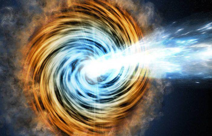 O Telescópio Espacial de Raios-gama Fermi da NASA identificou os blazares de raios-gama mais distantes, um tipo de galáxia cujas emissões intensas são alimentadas por buracos negros superdimen