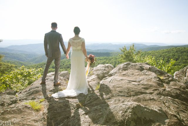 Erin & Kevin - Karly Murphy, photographer | Shenandoah National Park Wedding