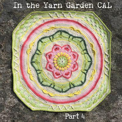 Part 4 of In the Yarn Garden CAL