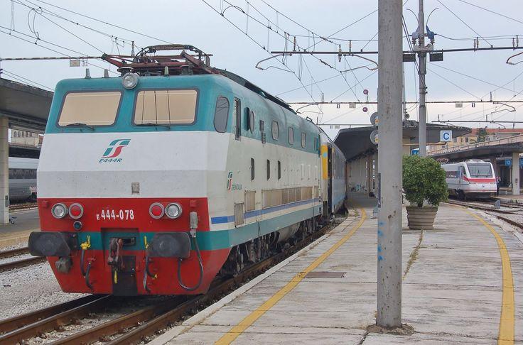 #FS class E.444R at Venezia Santa Lucia station