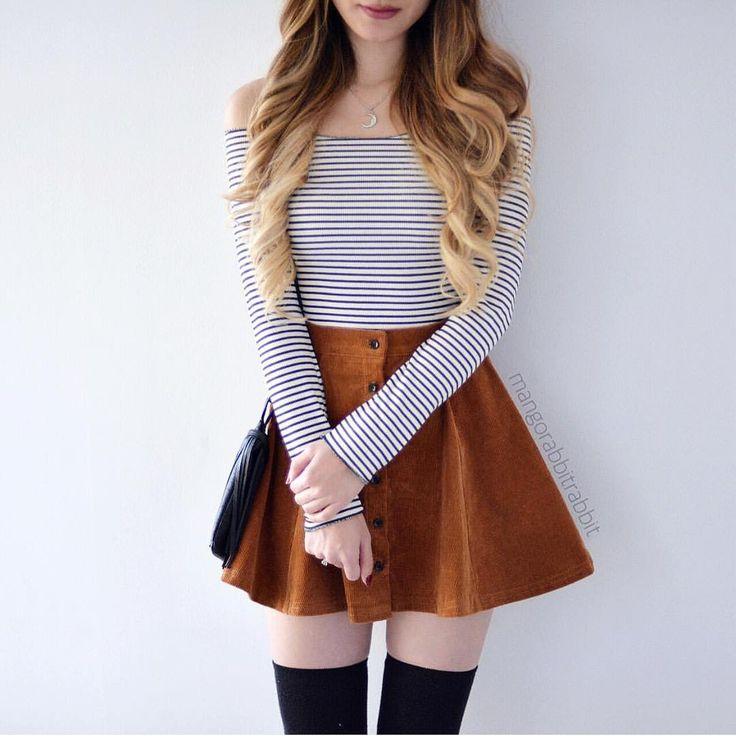 """Super cute top and skirt from @shopmangorabbit worn by Kerina Mango ♡♥♡♥♡♥"
