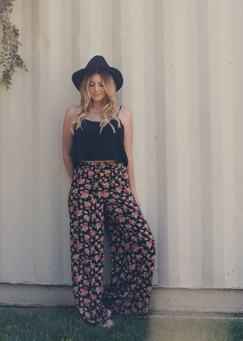 Image result for flowy pants