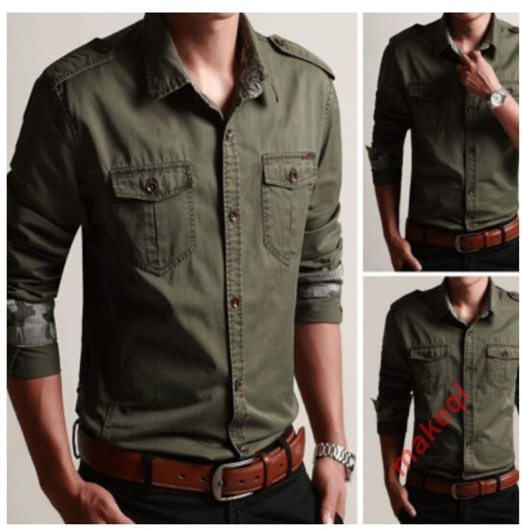 Moda Masculina Militar Do Exército Denim Slim Camo Manga Longa Jaqueta Camisa Tamanho Plus | Roupas, calçados e acessórios, Roupas masculinas, Casacos e jaquetas | eBay!