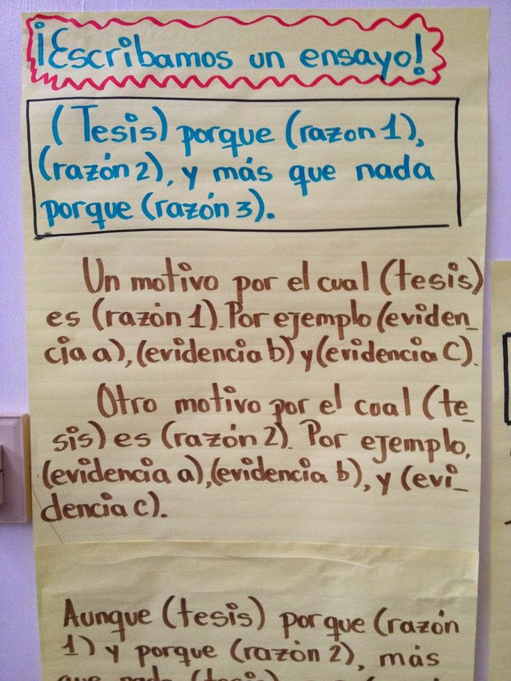 spanish writing correction codes