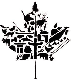 Canadian flag (national symbols)