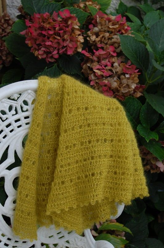 18 best images about Crochet Evas shawl on Pinterest