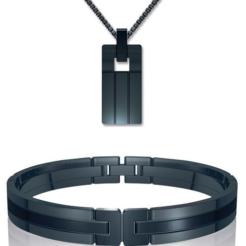 Guy Laroche's stainless steel collection for men