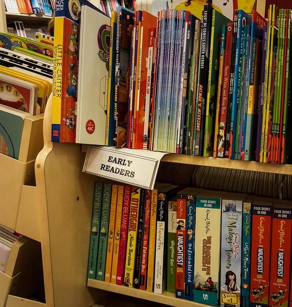 Can you spot A Fun Phonics Series in the shelves at Dymmocks?