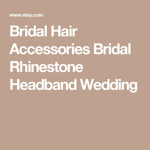 Bridal Hair Accessories  Bridal Rhinestone Headband Wedding