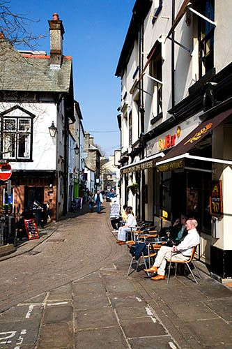 Cafes and Shops, Bowness on Windermere, Cumbria