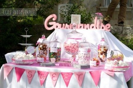 Candy Bar Rose Et Gourmand | Celebrations In 2019 | Candy Bar Wedding,  Candy Bar Party, Bar