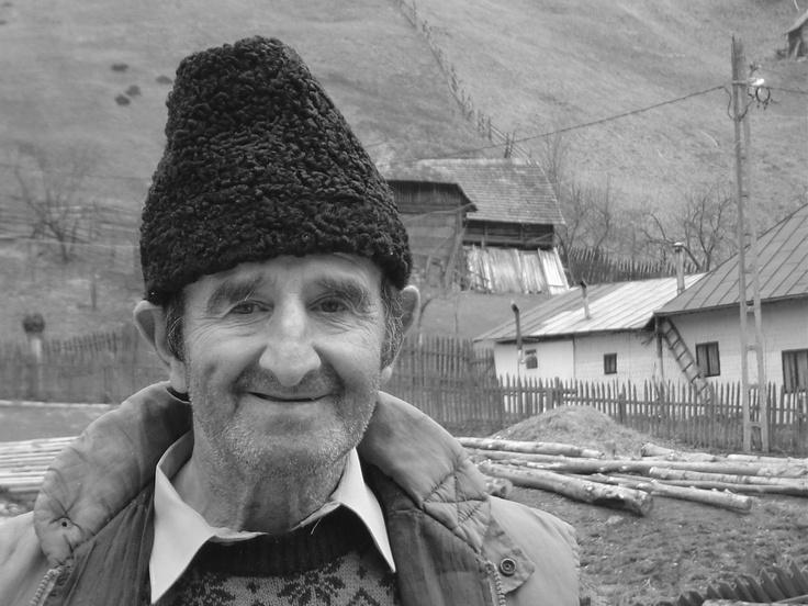 Romanian astrakhan wool hat