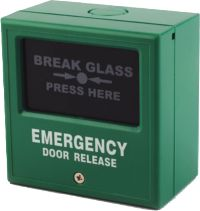 Function is to override the electrical locking/release devices in case of emergency